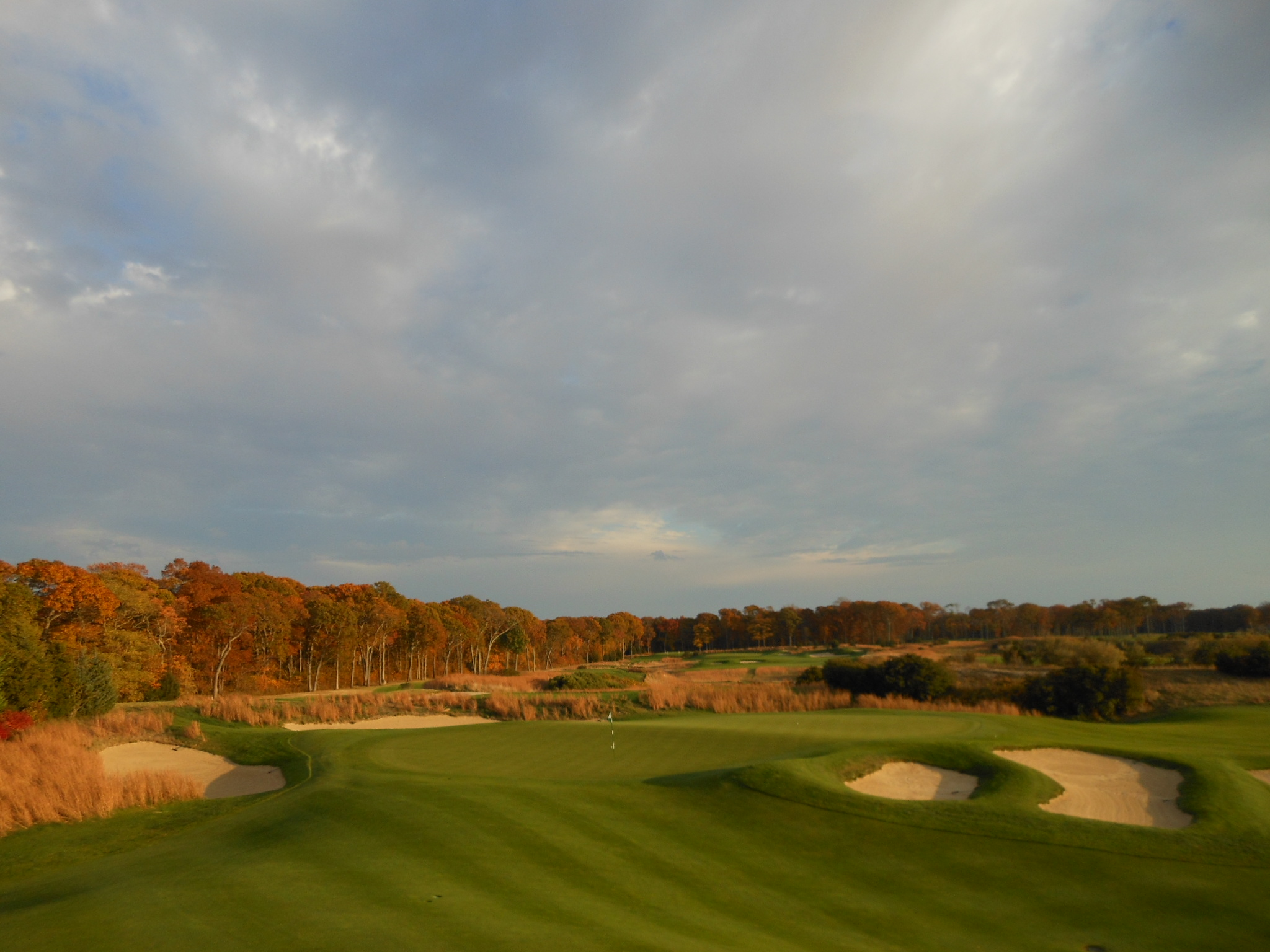 18th Green- Fall Colors